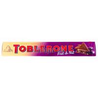 Шоколад Toblerone з родзинками та горіхами 100г х20