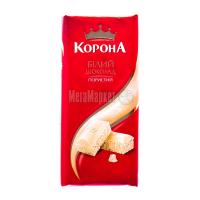 Шоколад Корона пористий білий 90г х20