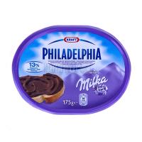 Крем-сир Fhiladelphia Milka з шоколадом 175г х6