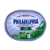 Крем-сир Kraft Philadelphia з зеленню 175г х12