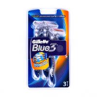 Бритва Gillette Blue 3 одноразовий 3шт.