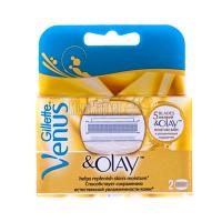 Касети змінні Gillette Venus & Olay 2шт.