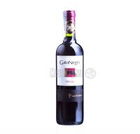 Вино Gato Negro San Pedro Shiraz Шираз червоне сухе 13,5% 0.75л