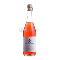 Вино ігристе Charli Lambrusco Dellemilia рож.солод.0,75л х2