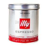 Кава ILLY Espresso мелена норм. обсмаж.125г