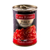 Томати Casa Rinaldi очищені у власному соку 425мл