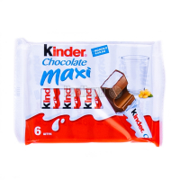 Шоколад Kinder Молочний Максі Т6 126г х20