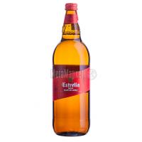Пиво Estrella Damm Barcelona c/б 1л