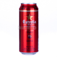 Пиво Estrella Damm Barcelona з/б 0,5л