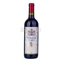 Вино Posada del Rey червоне напівсолодке 0,75л