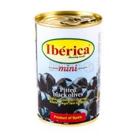 Оливки Iberica mini чорні б/к 300г х12