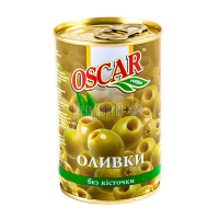 Оливки Oscar зелені б/к 300г х12