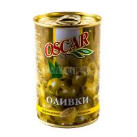 Оливки Oscar зелені з лимоном 300г х12