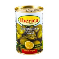 Оливки Iberica з лимоном 314мл х24
