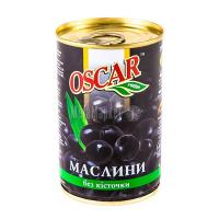 Оливки Oscar чорні б/к 300г