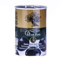 Оливки Olive line величезні б/к 425г