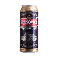 Пиво Krusovice Cerne темне з/б 0,5л