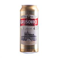 Пиво Krusovice Imperial з/б 0,5л