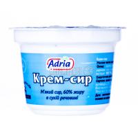 Крем-сир Adria м`який 60% 100г х24