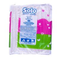 Серветки Solo паперові білі 1-шарові 100шт х6