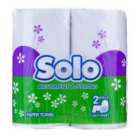 Рушник паперовий Solo Absorbent & Strong, 2 шт.