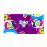 Серветки Solo гігієнічні двошарові 150шт. х6