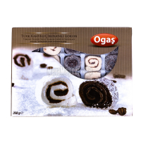 Рахат-лукум Ogas кокосовий горіх,шоколад та кава 350г х12