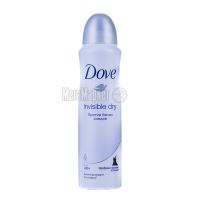 Дезодорант Dove Invisible Dry спрей 150мл х6