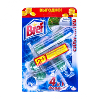 Засіб Bref чистячий для унітаза Хвойна свіжість 3*50г