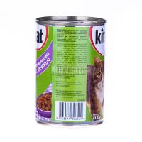 Корм Kitekat домашній обід з качкою в желе ж/б 400гх6