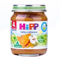 Пюре Hipp груші з яблуками/гарбуз із яблуками 125г х6