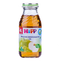 Сік Hipp яблучно - виноградний 200мл х6