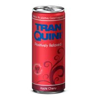 """Натуральний релакс-напій смак яблуко-вишня, ТМ """"TranQuini"""",0,25л"""