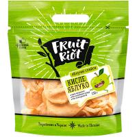 Яблучні слайси Fruit Riot кислі 150г