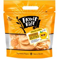 Яблучні слайси Fruit Riot солодкі 150г