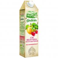 Сік Galicia Яблучно-полуничний 1л х6