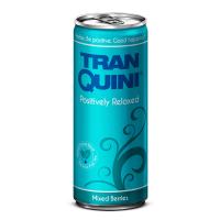 """Натуральний релакс-напій ягідний смак, ТМ """"TranQuini"""",0,25л"""