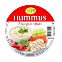 Закуска Hummus з гострим перцем 250г х12