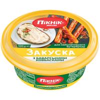 Закуска Пікнік меню з баварськими ковбасками 100г