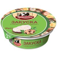 Закуска смаколики Тульчинка з сиром Смажені грибочки 55% 90г