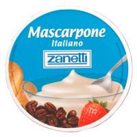 Сир Zanetti Mascarpone Italiano 80% 250г
