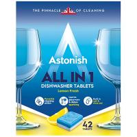 Засіб Astonish для посудомийних машин 5в1 42табл.