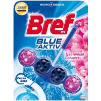 """Туалетний блок Bref Blue Aktiv """"Свіжість квітів"""", 50 г"""