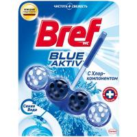 Засіб Bref для унітаза Blue aktiv З хлор-компонентом 50г