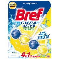 Засіб Bref для унітаза Лимонна свіжість 53г