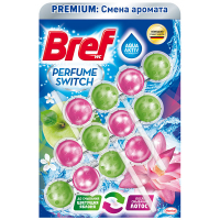 Засіб Bref для унітазу Квітуча яблуня-лотос 3*50г