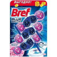 Засіб Bref Wc блок для чищення унітазів блакитна вода 3*50г