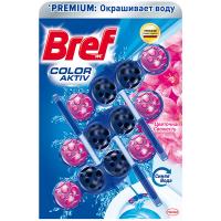 Засіб Bref Wc блок для чищення унітазів фіолетова вода 3*50г