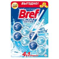"Туалетний блок Bref Сила-Актив 4в1 ""Океанський бриз"", 2 шт."