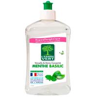 """Безфосфатний засіб для миття посуду L`Arbre Vert """"М`ятний базилік"""", 500 мл"""